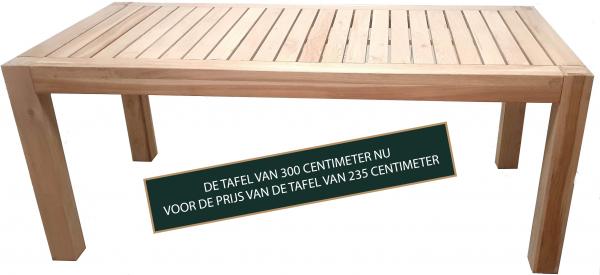 Aanbieding eiken houten tafel