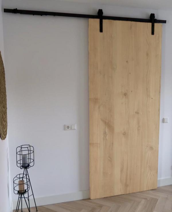 Lariks douglas houten loftdeur